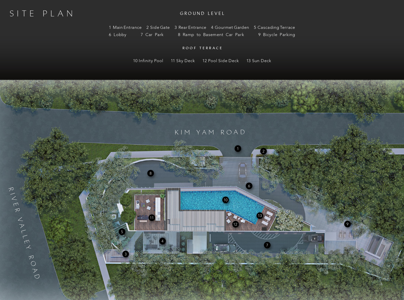 new-condo-singapore-the-iveria-site-plan