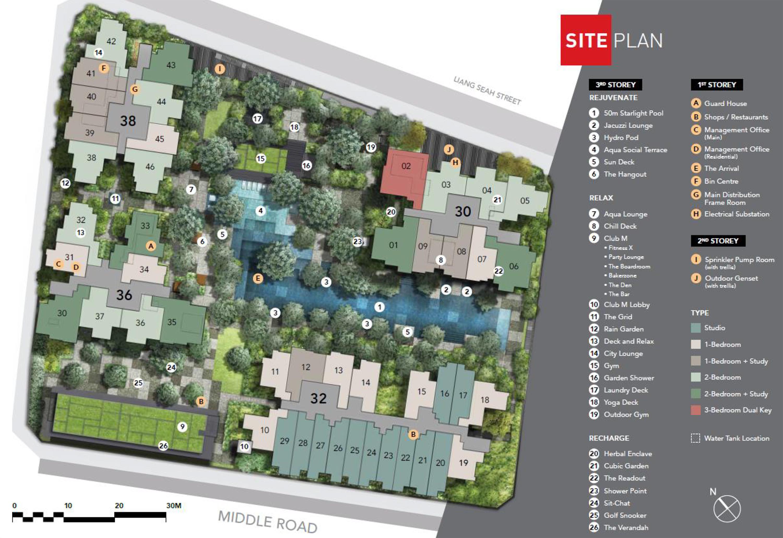 the-m-condo-wingtai-site-plan