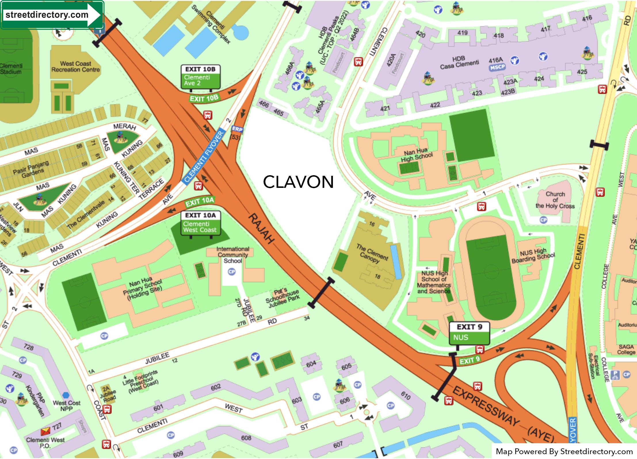 new-condo-singapore-clavon-location-map