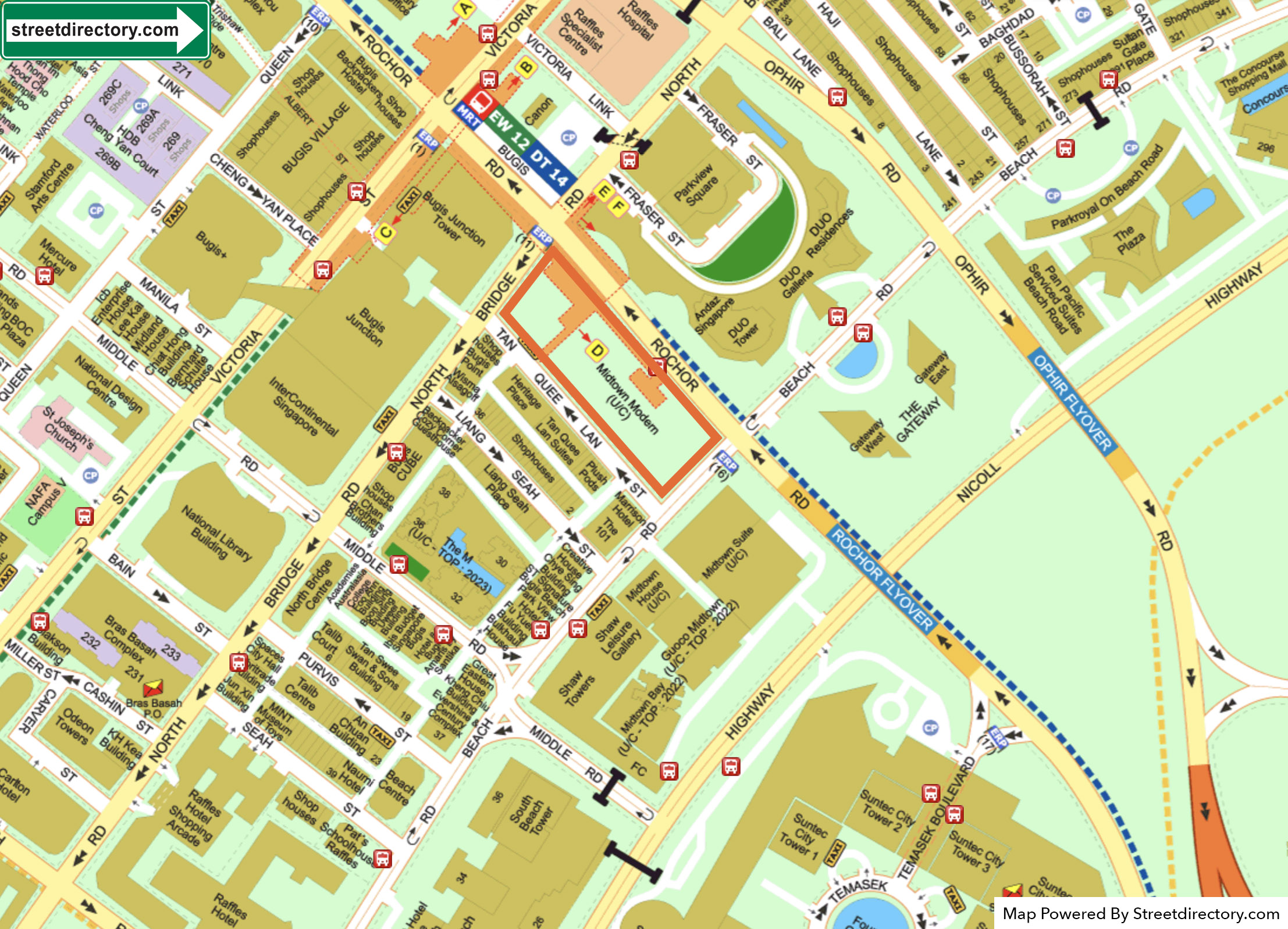 new-condo-singapore-midtown-modern-streetdirectory-location-map