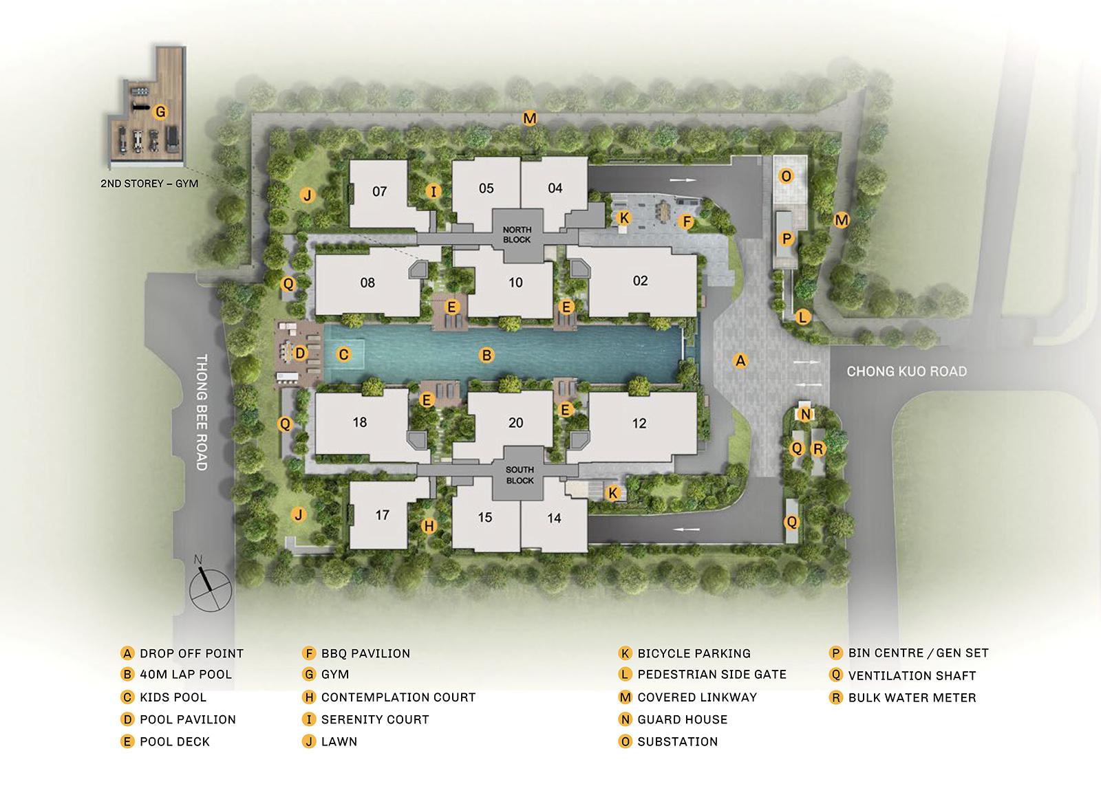 new-condo-singapore-the-esscence-site-plan