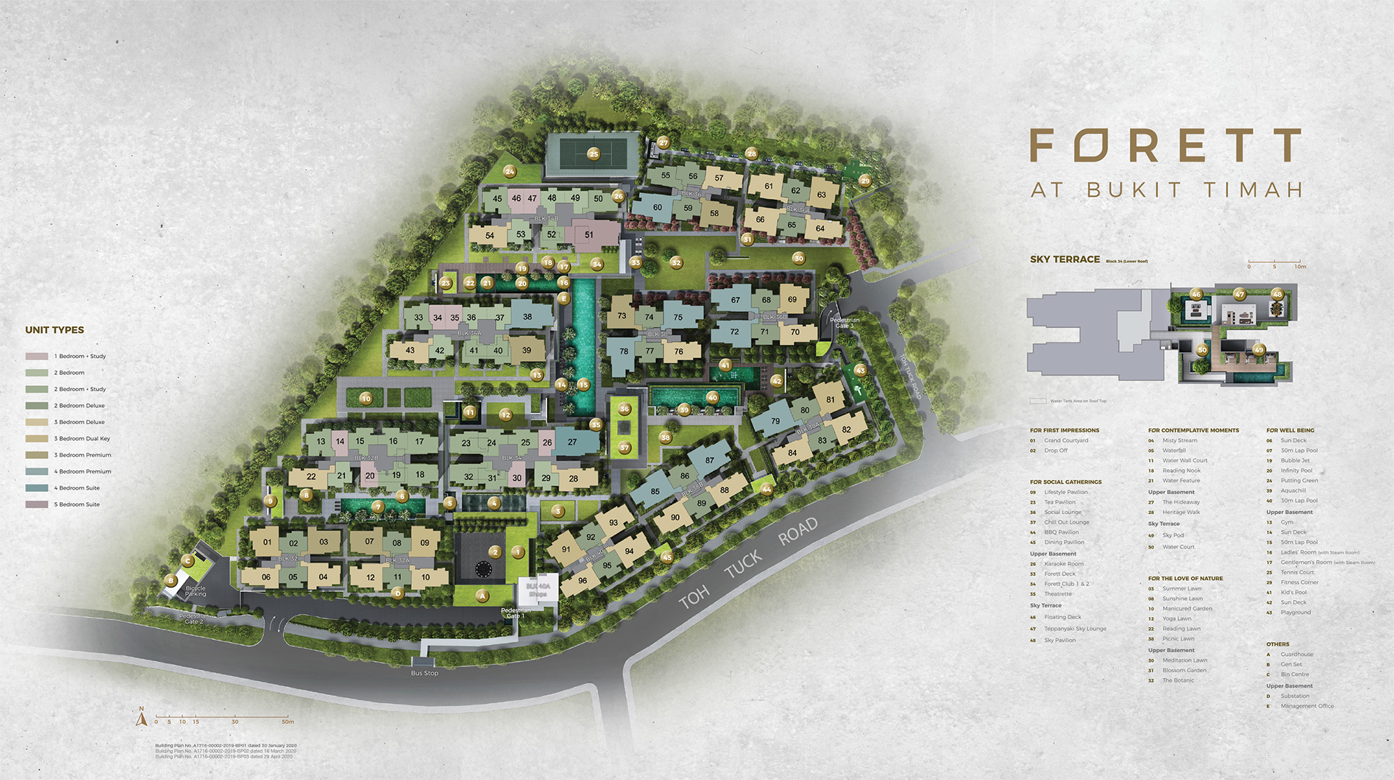 new-condo-singapore-forett-at-bukit-timah-site-plan