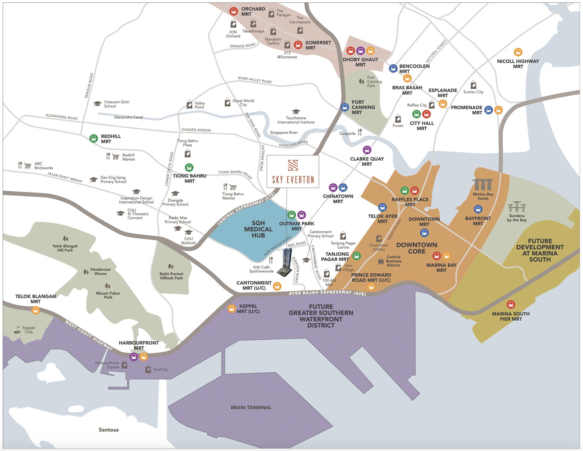 new-condo-singapore-sky-everton-location-map