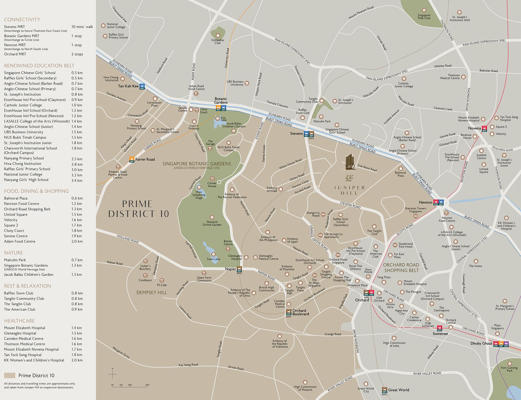 new-condo-singapore-juniper-hill-location-map