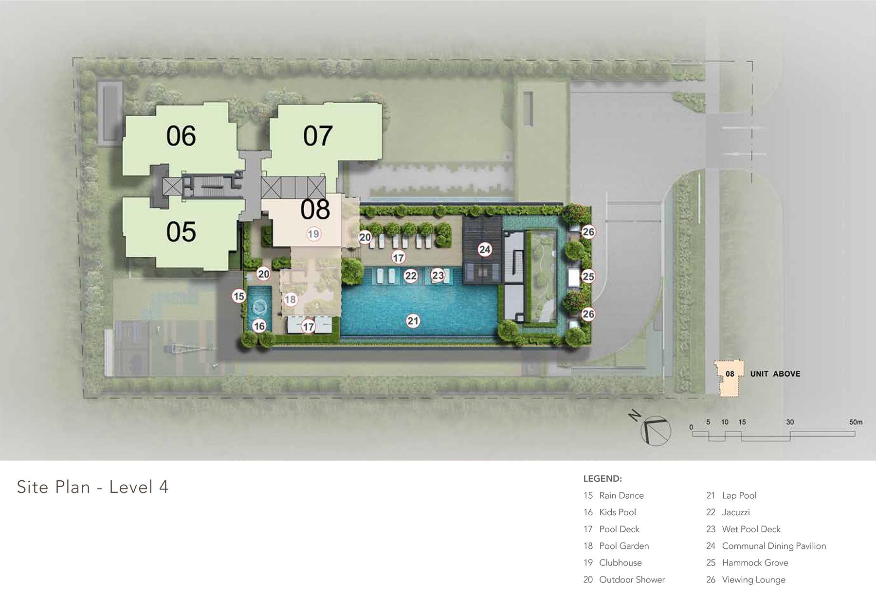 sloane-residences-level-2-site-plan-new-condo-singapore
