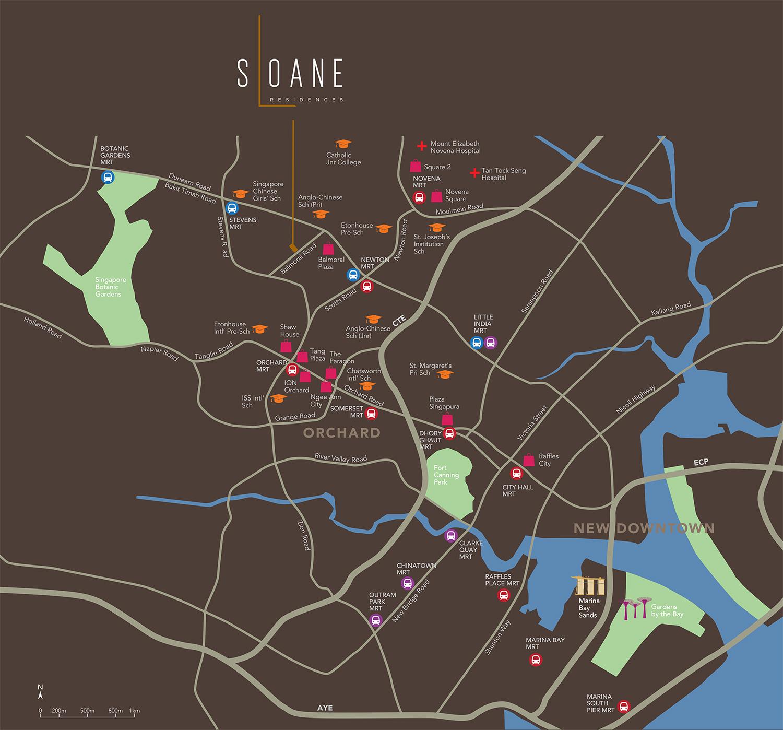 sloane-residences-location-map-new-condo-singapore