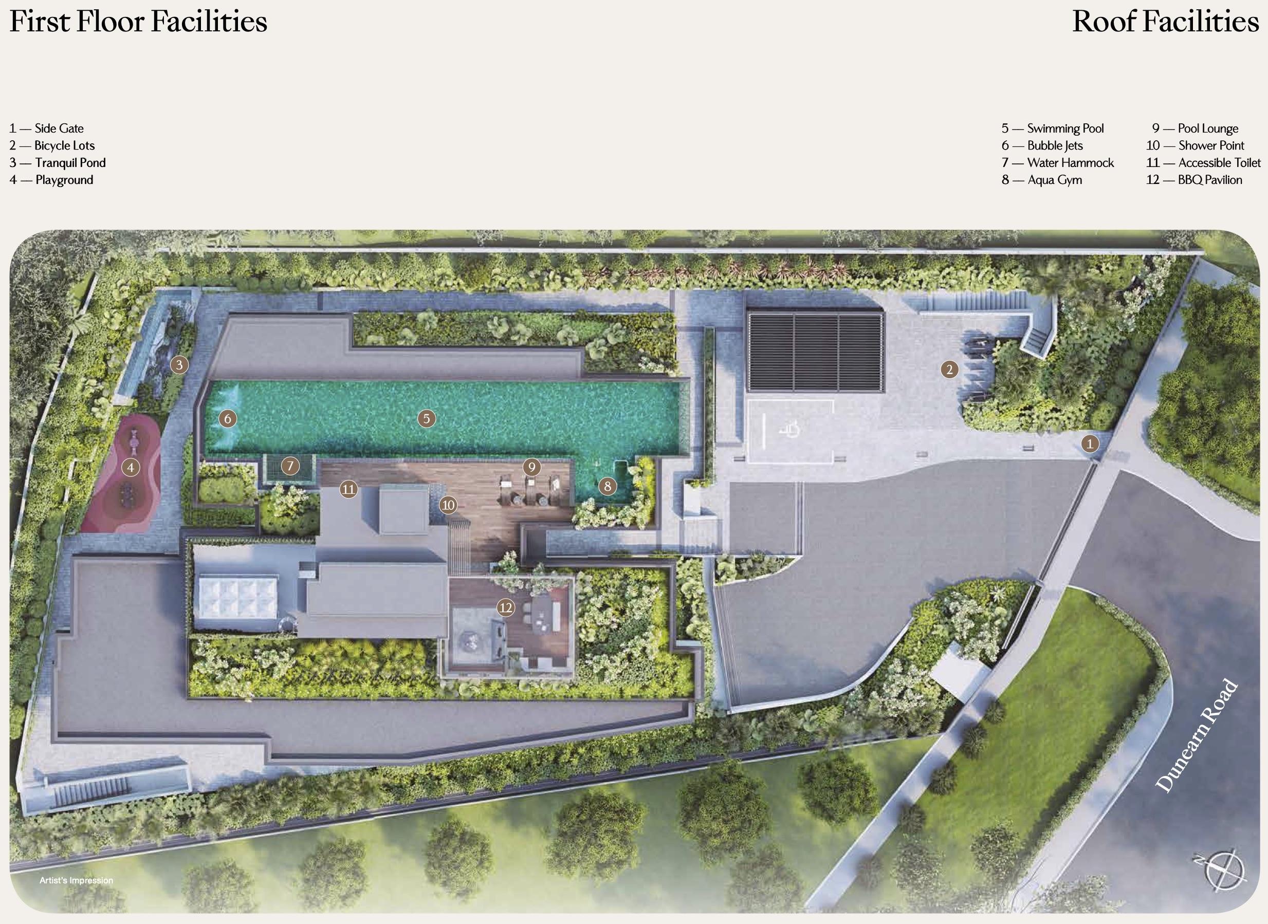 Dunearn-386-new-condo-singapore-site-plan