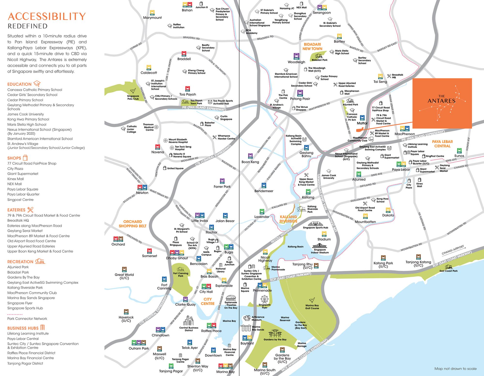 The-Antares-new-condo-singapore-location-map