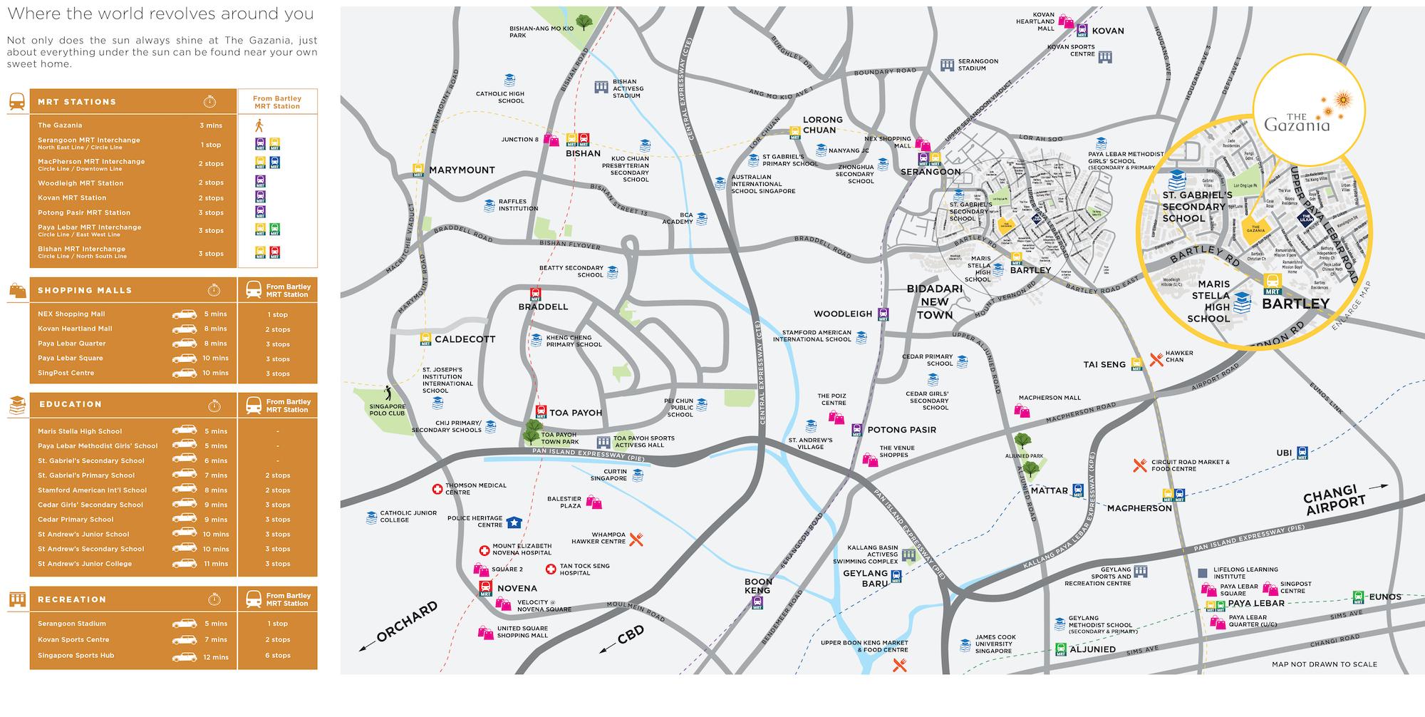 The-Gazania-new-condo-singapore-location-map-1