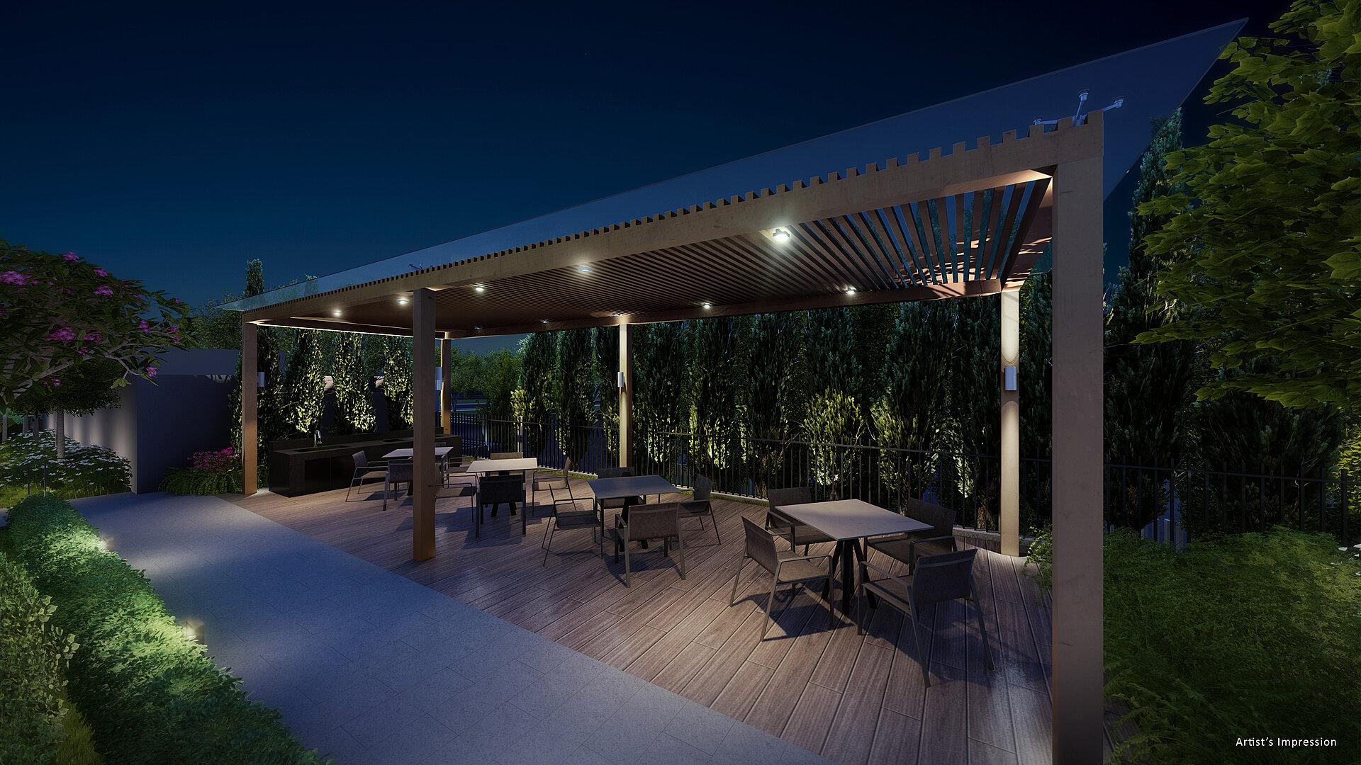 BBQ & Dining Pavilion