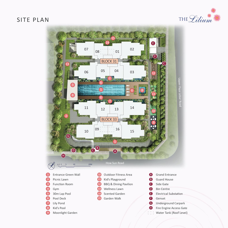The-Lilium-new-condo-singapore-site-plan