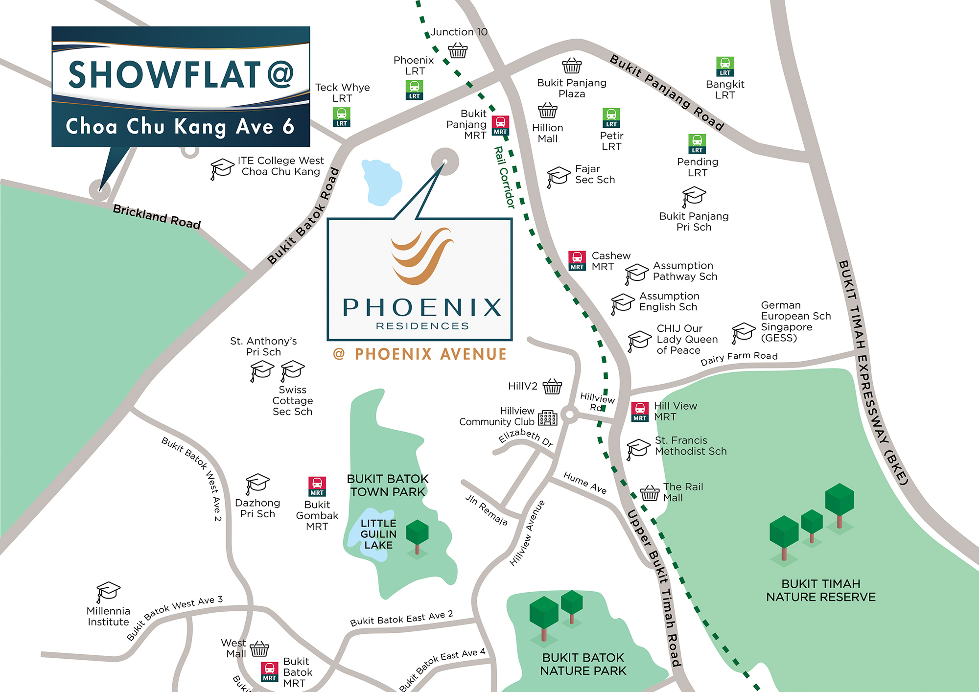 Phoenix-Residences-new-condo-singapore-location-map