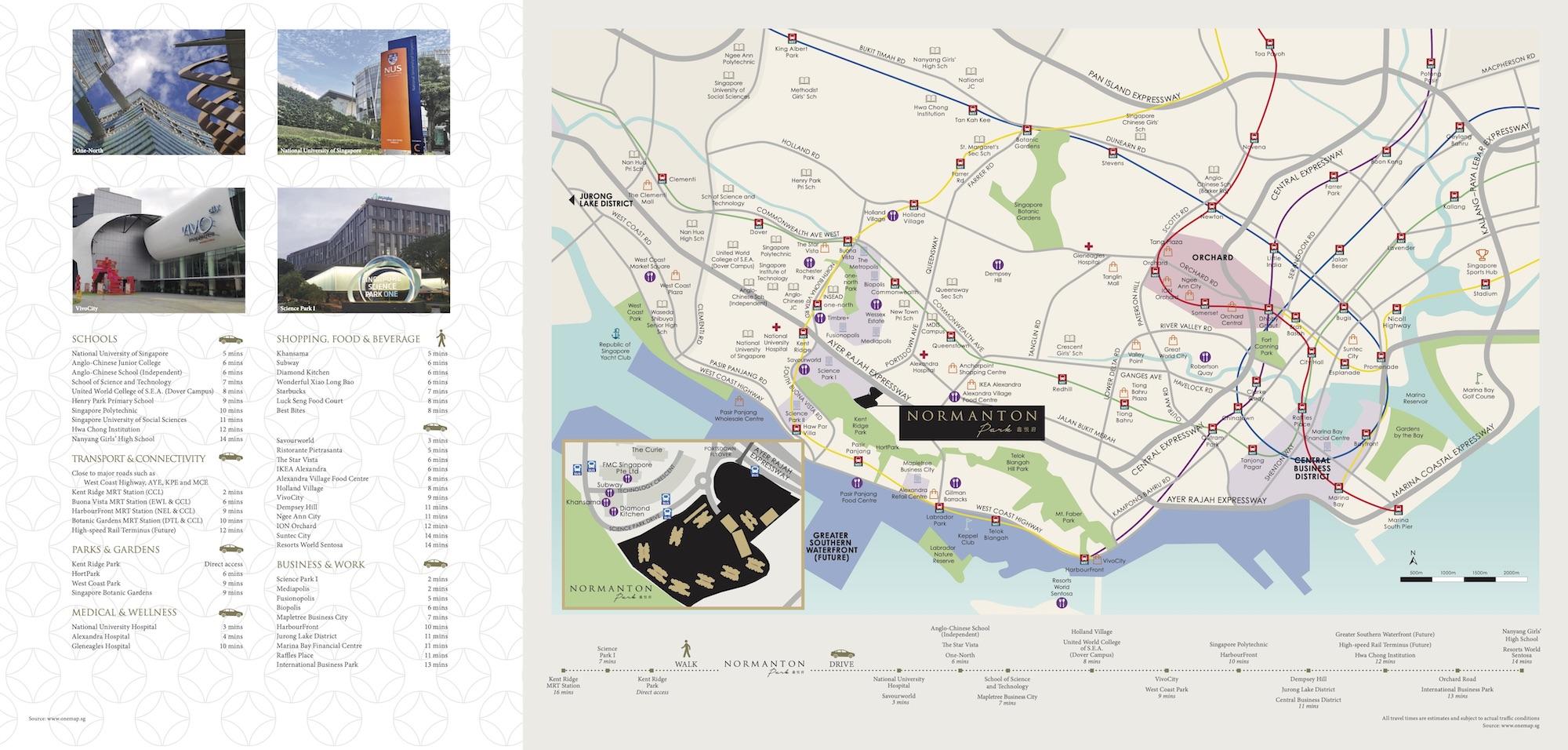 Normanton-Park-new-condo-singapore-location-map