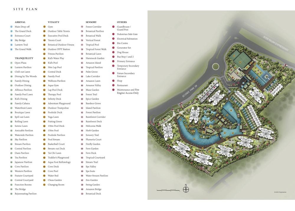 Normanton-Park-new-condo-singapore-site-plan
