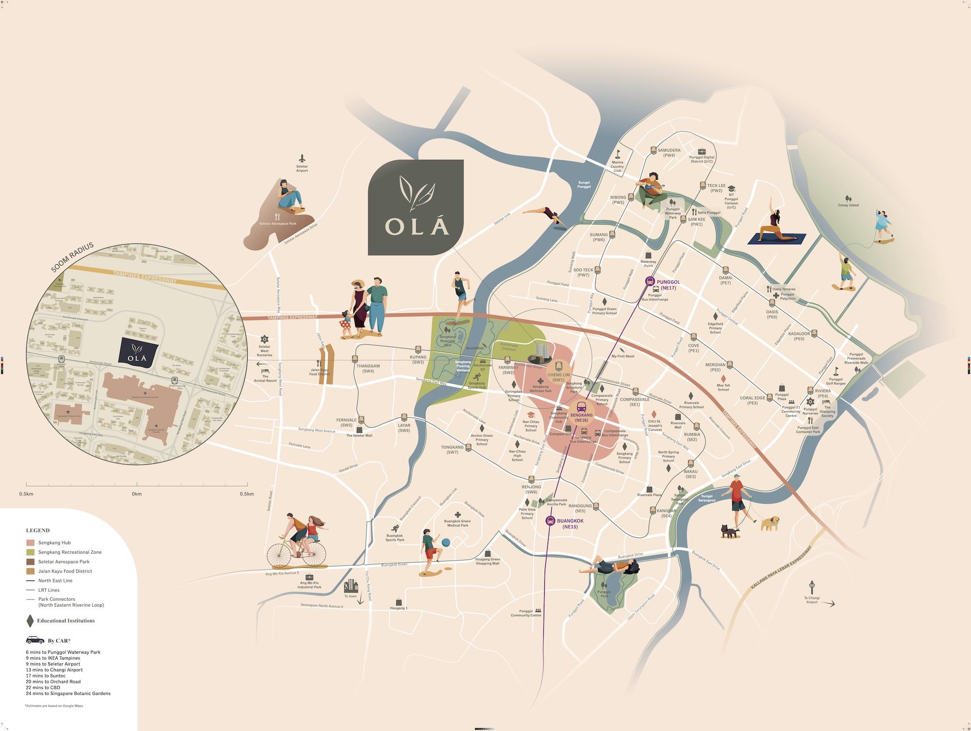 Ola-new-condo-singapore-location-map