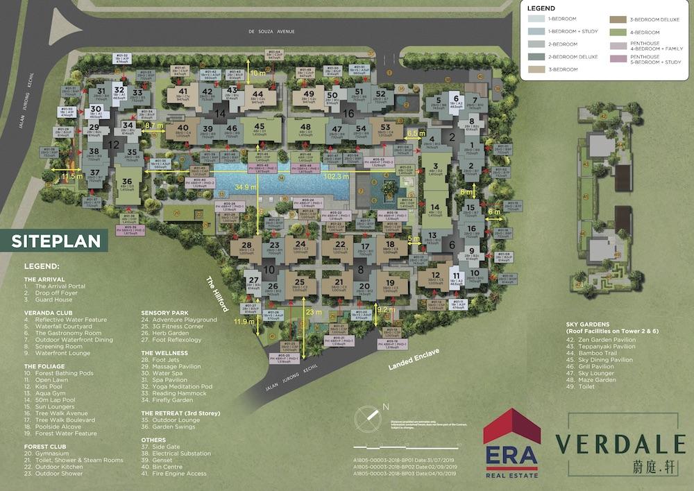 Verdale-new-condo-singapore-site-plan