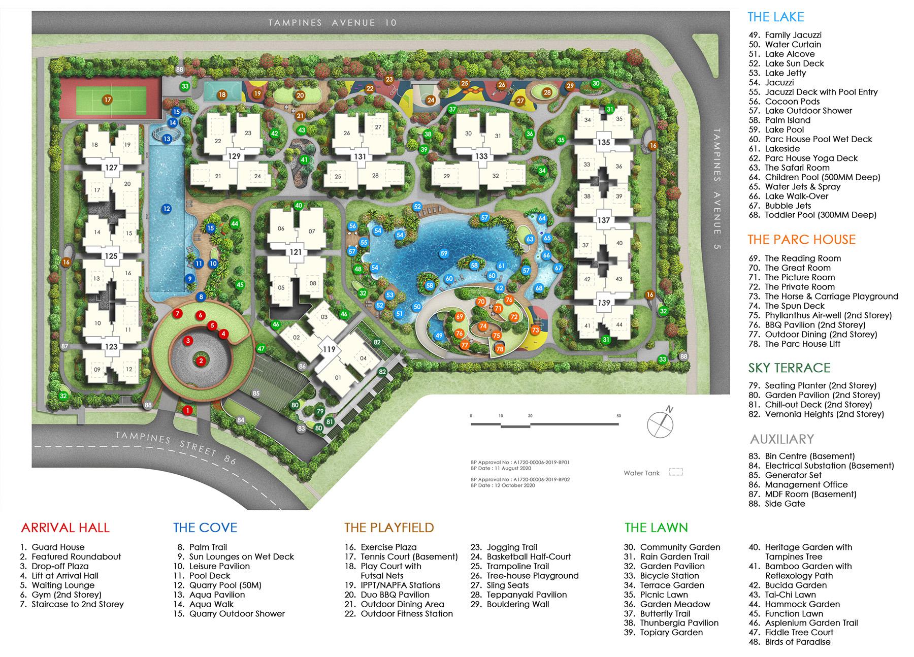 parc-central-residences-site-plan