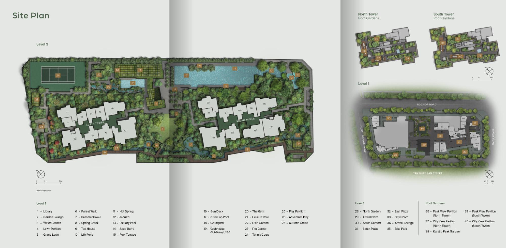 new-condo-singapore-midtown-modern-at-bugis-site-plan