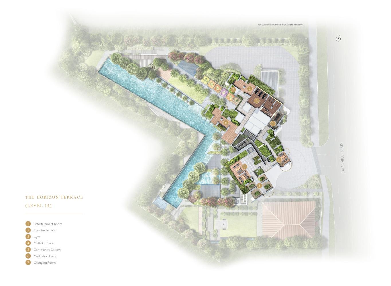 new-condo-singapore-klimt-cairnhill-site-plan-2