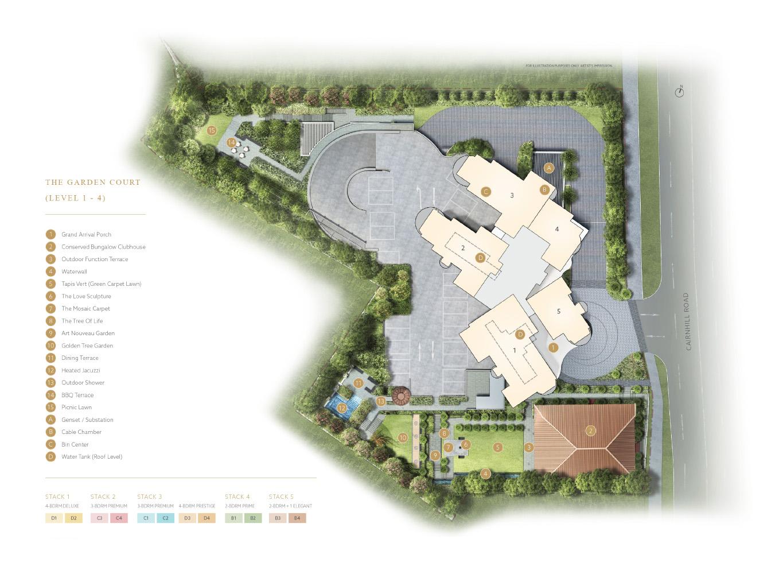 new-condo-singapore-klimt-cairnhill-site-plan