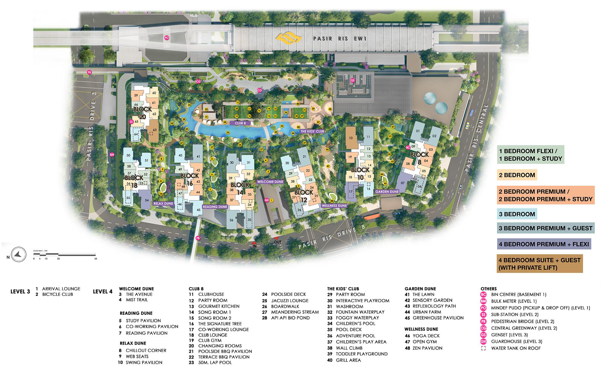 pasir-ris-8-site-plan