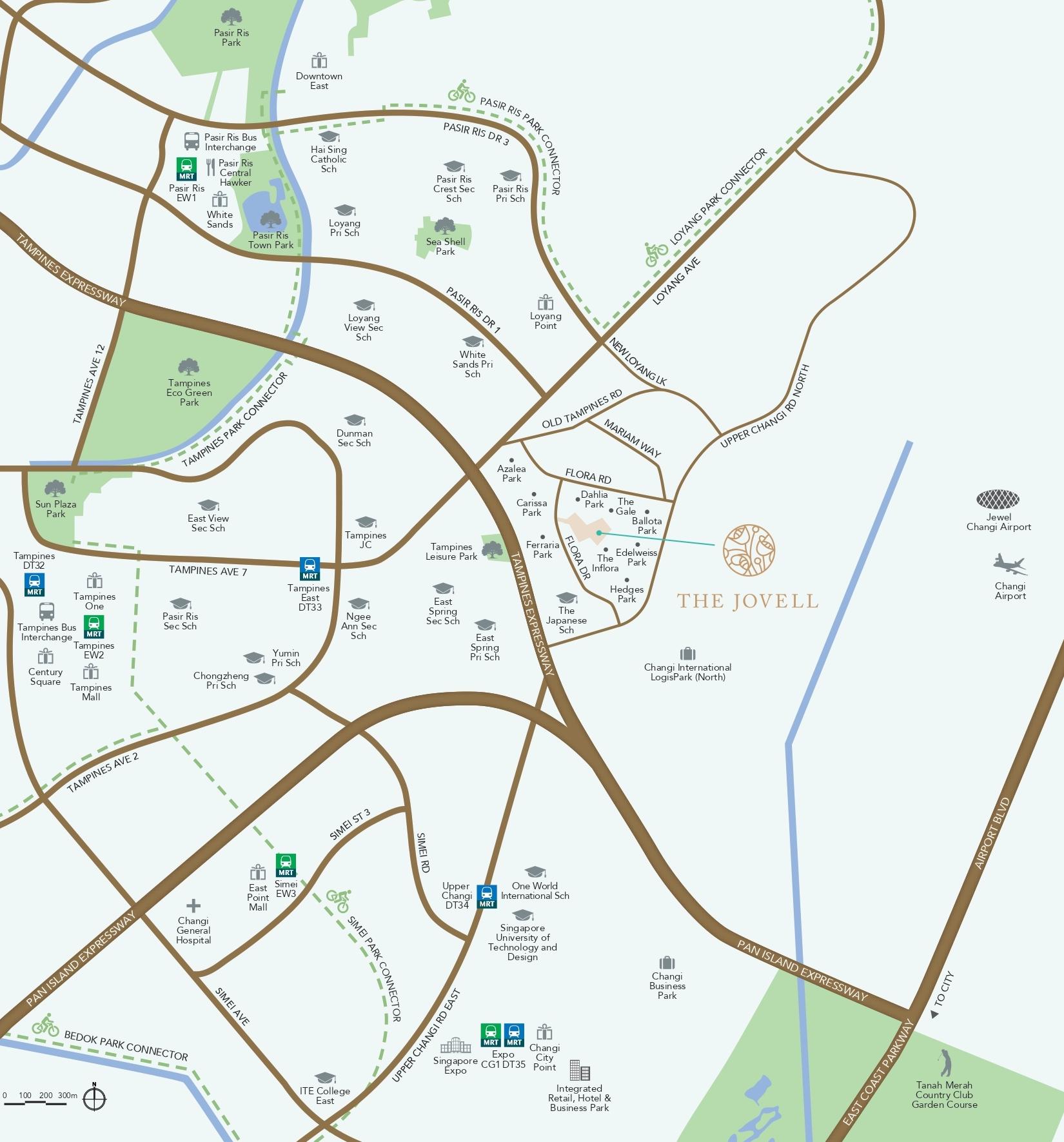 the-jovell-new-condo-location-map